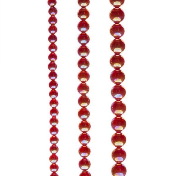 Aurakvarc karneol füzér
