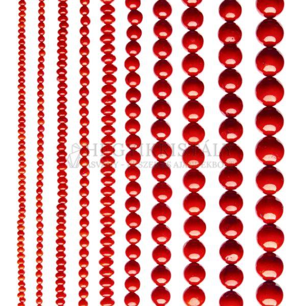 Korall vörös füzér