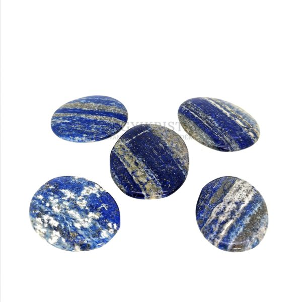 Lapis Lazuli (Lazurit) lapos marokkő 1