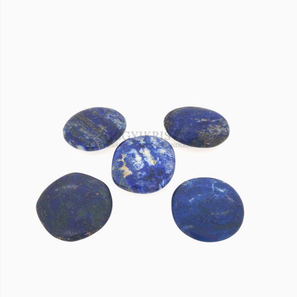 Lapis Lazuli (Lazurit) lapos marokkő 2