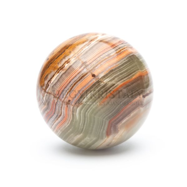Ónix-márvány gömb