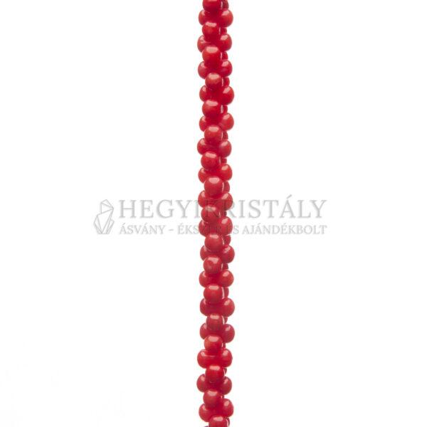 Korall Vörös csont alakú füzér