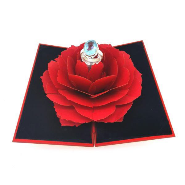 Különleges ékszerdoboz 12x7.5 cm