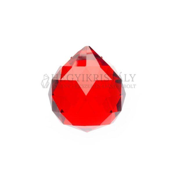 Feng Shui gömb piros