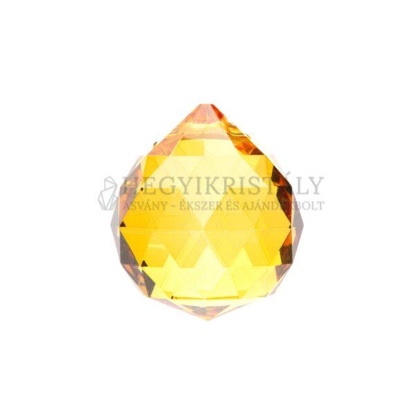 Feng Shui gömb sárga