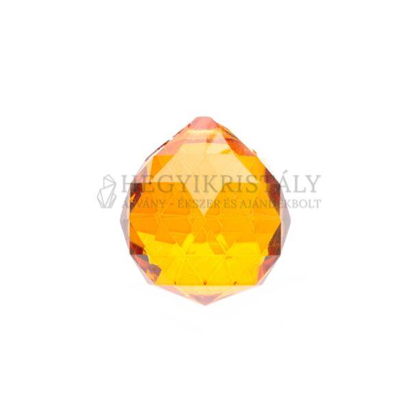 Feng Shui gömb narancssárga