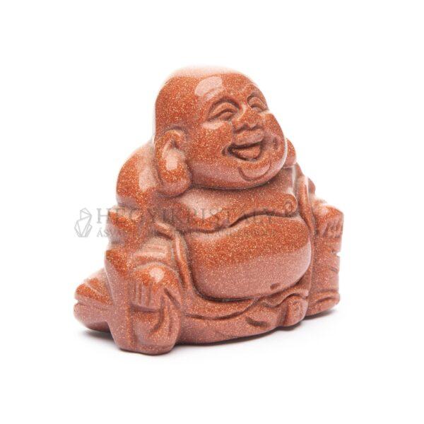 Aranykő barna buddha