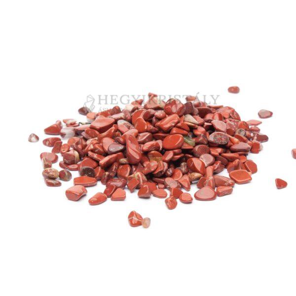 Jáspis vörös mini dobcsiszolat