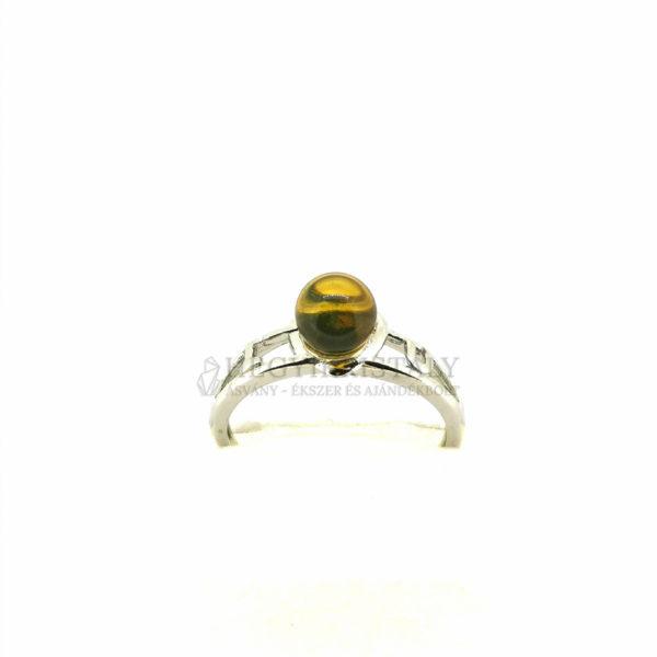 Borostyán gyűrű 3