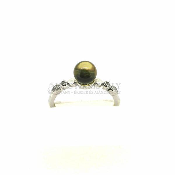 Borostyán gyűrű 2