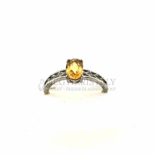 Citrin gyűrű 3