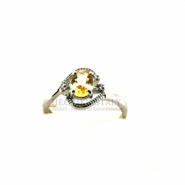 Citrin gyűrű 2