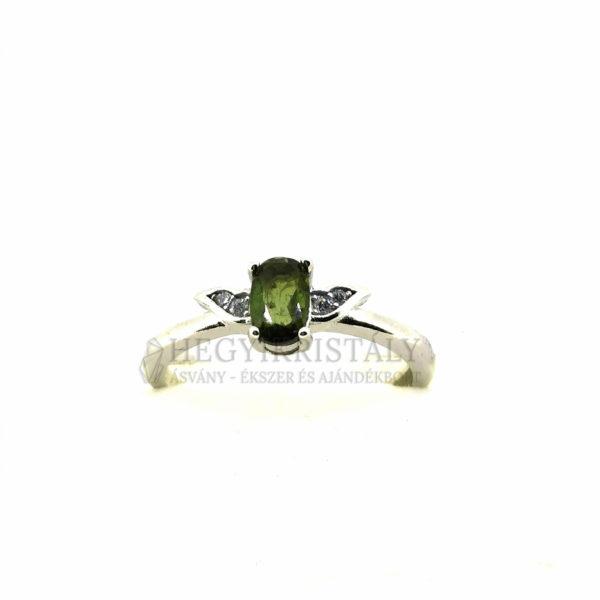 Turmalin Zöld -Verdelit- gyűrű 2