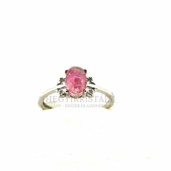 Turmalin Pink -Rubellit- gyűrű 4