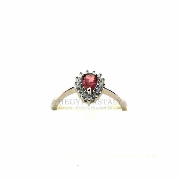 Turmalin Pink -Rubellit- gyűrű 6