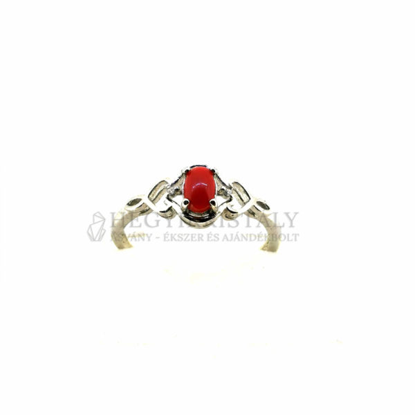 Korall Vörös gyűrű 2