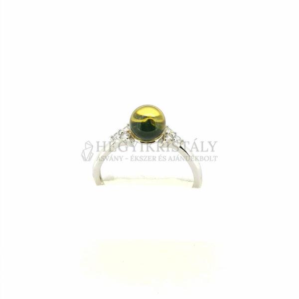 Borostyán gyűrű 1