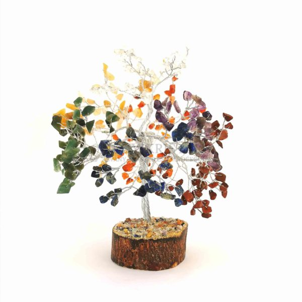 Cserje alakú csakra életfa (szerencsefa)