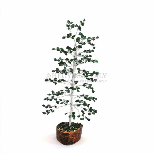 Fenyő alakú aventurin életfa (szerencsefa)