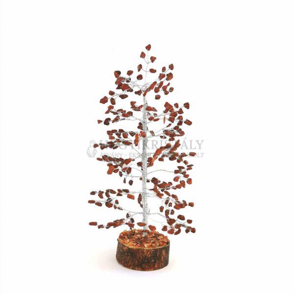 Fenyő alakú jáspis életfa (szerencsefa)