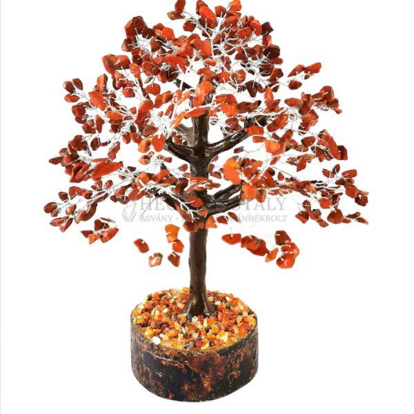 Platán alakú jáspis életfa (szerencsefa)