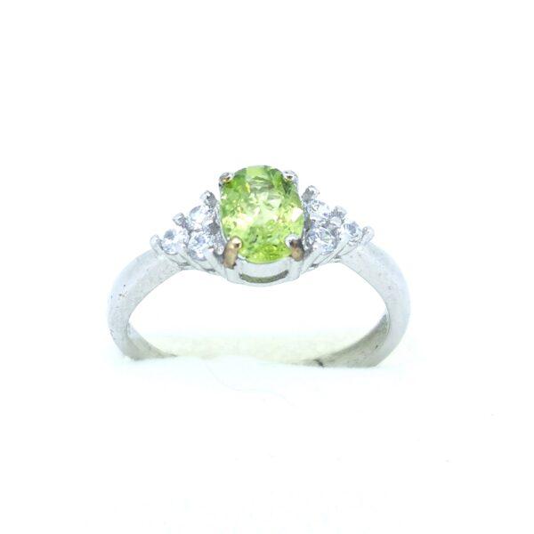 Peridot (Olivin) gyűrű 2