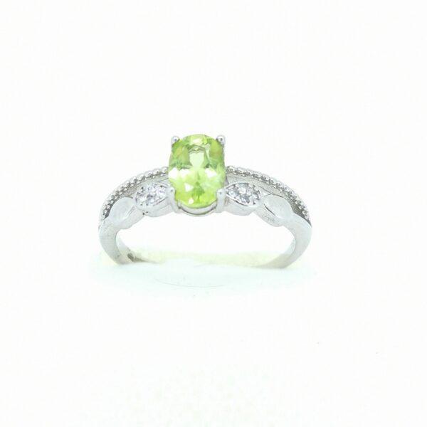 Peridot (Olivin) gyűrű 1