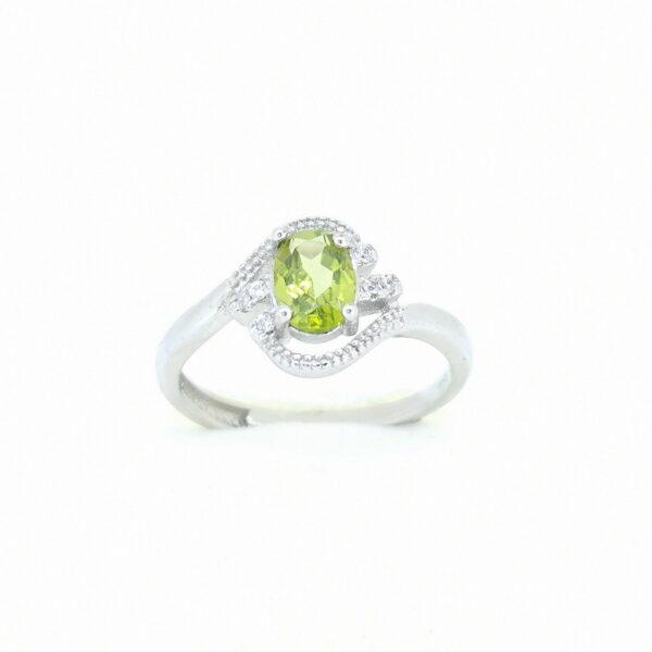 Peridot (Olivin) gyűrű 3