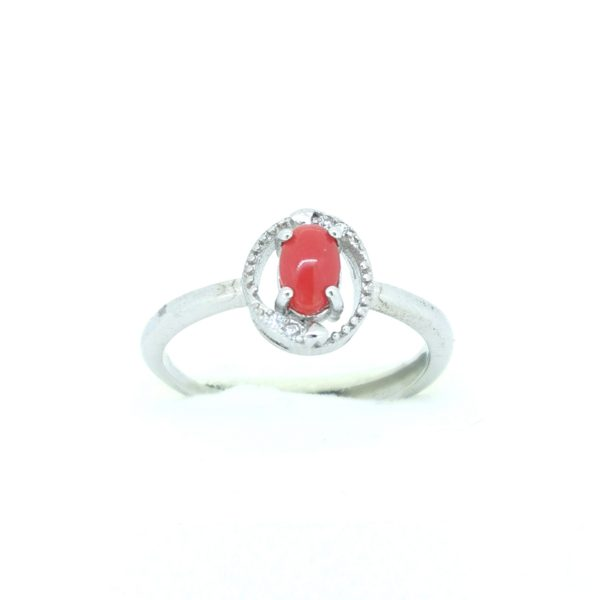 Korall Vörös gyűrű 3