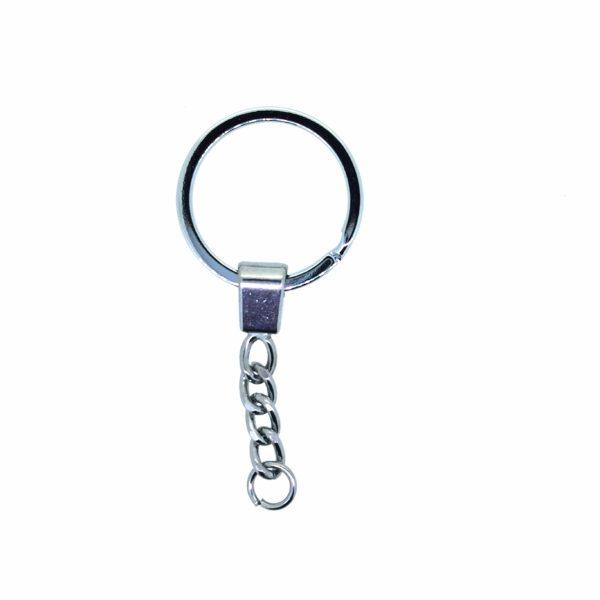 Kulcstartó lánccal 60mm