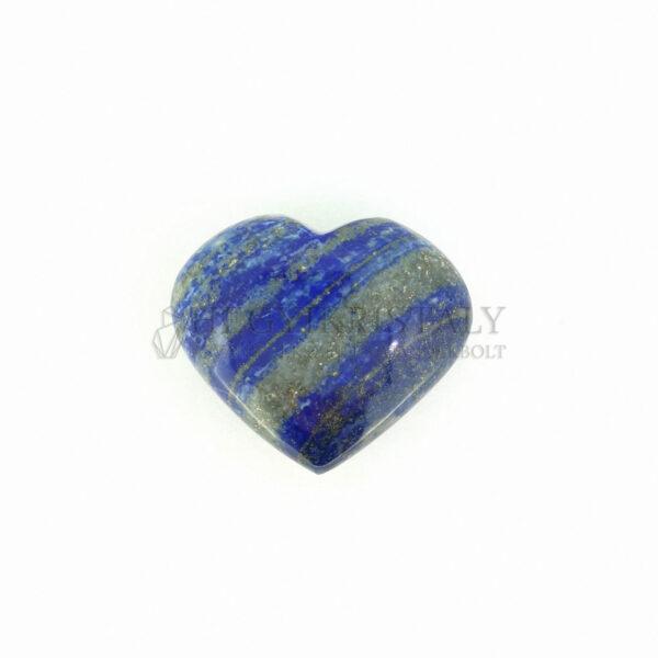 Lapis lazuli (lazurit) szív