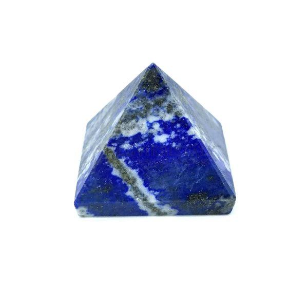 Lapis lazuli (lazurit) piramis