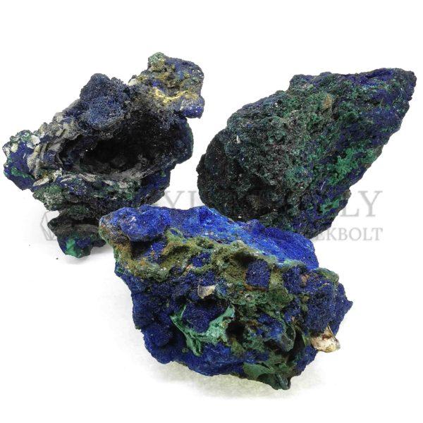Azurit-Malachit nyers ásvány (nagy)