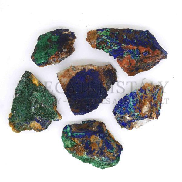 Azurit-Malachit nyers ásvány (kicsi)