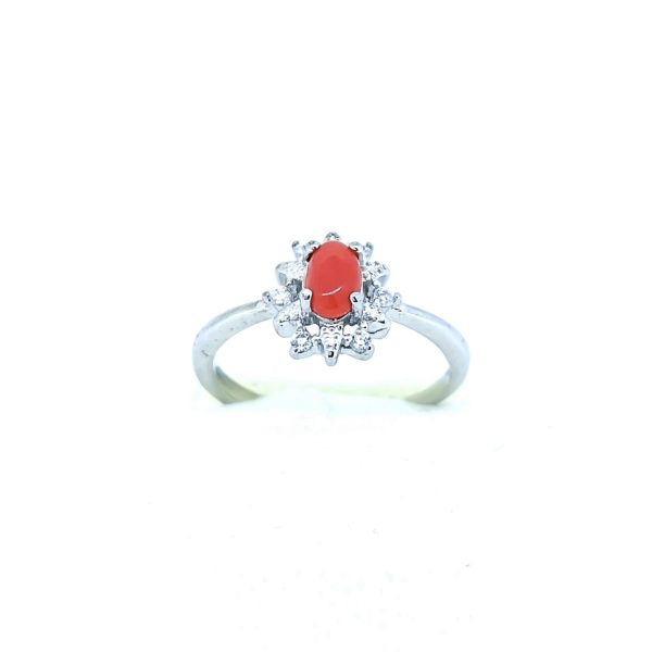 Korall Vörös gyűrű 4