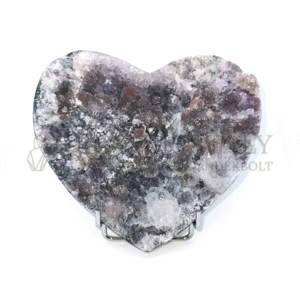 Természetes kvarc (szív)