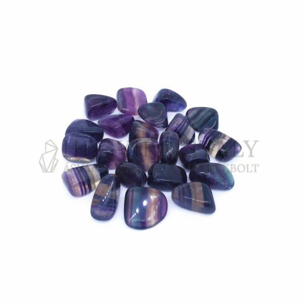 Fluorit szivárvány marokkő 1