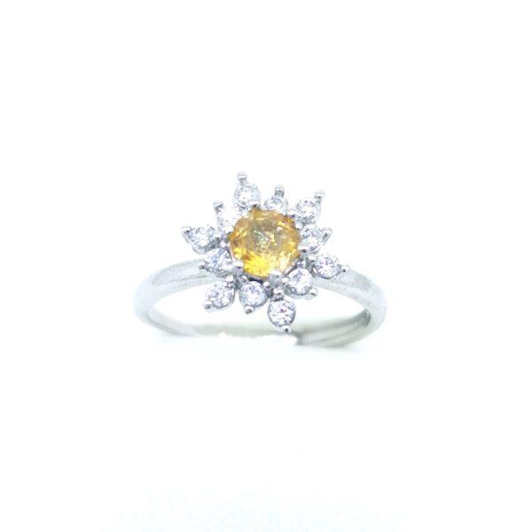 Turmalin (forgós) gyűrű 8