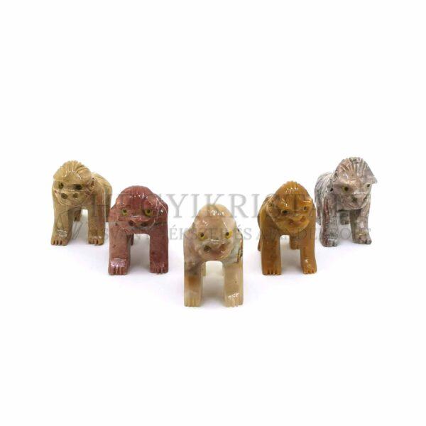 Zsírkő faragvány (gorilla)Zsírkő faragvány (gorilla)