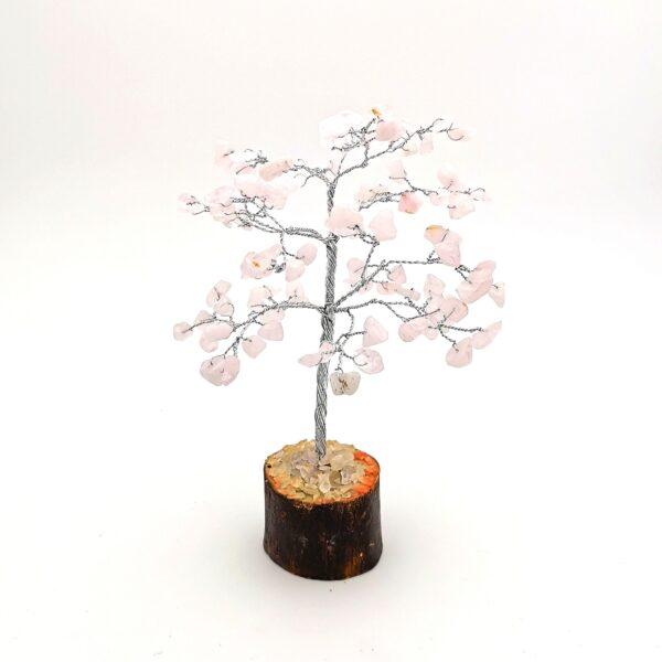 Cserje alakú rózsakvarc életfa mini (szerencsefa)