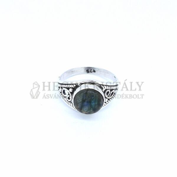 Labradorit ezüst gyűrű